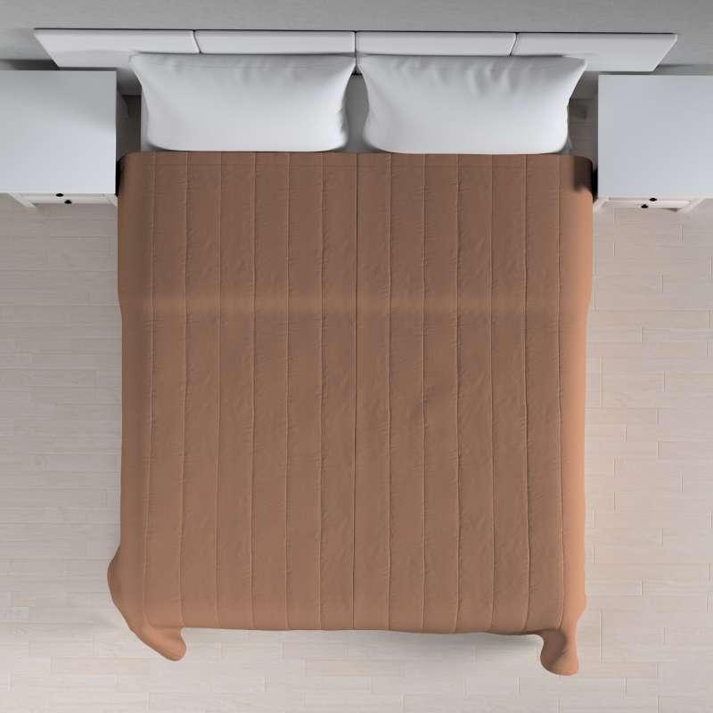 Sengeteppe quiltet<br/>10cm striper fra kolleksjonen Cotton Panama, Stoffets bredde: 702-02