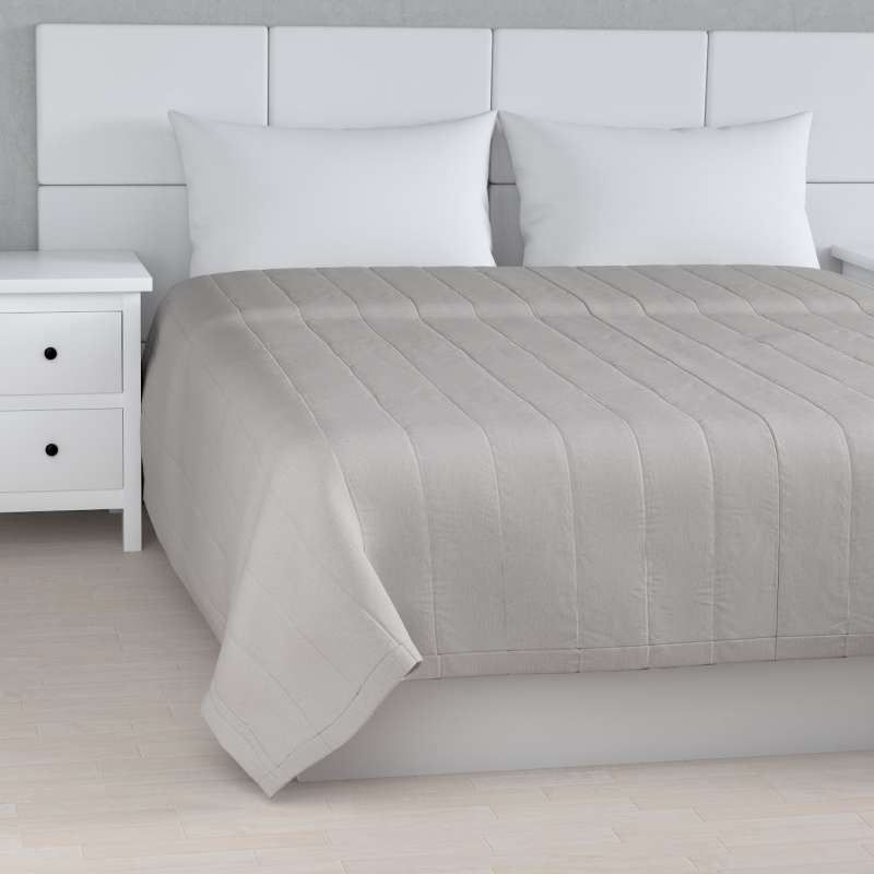 Stripe quilted throw in collection Chenille, fabric: 702-23