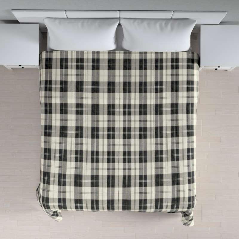 Stripe quilted throw in collection Edinburgh, fabric: 115-74