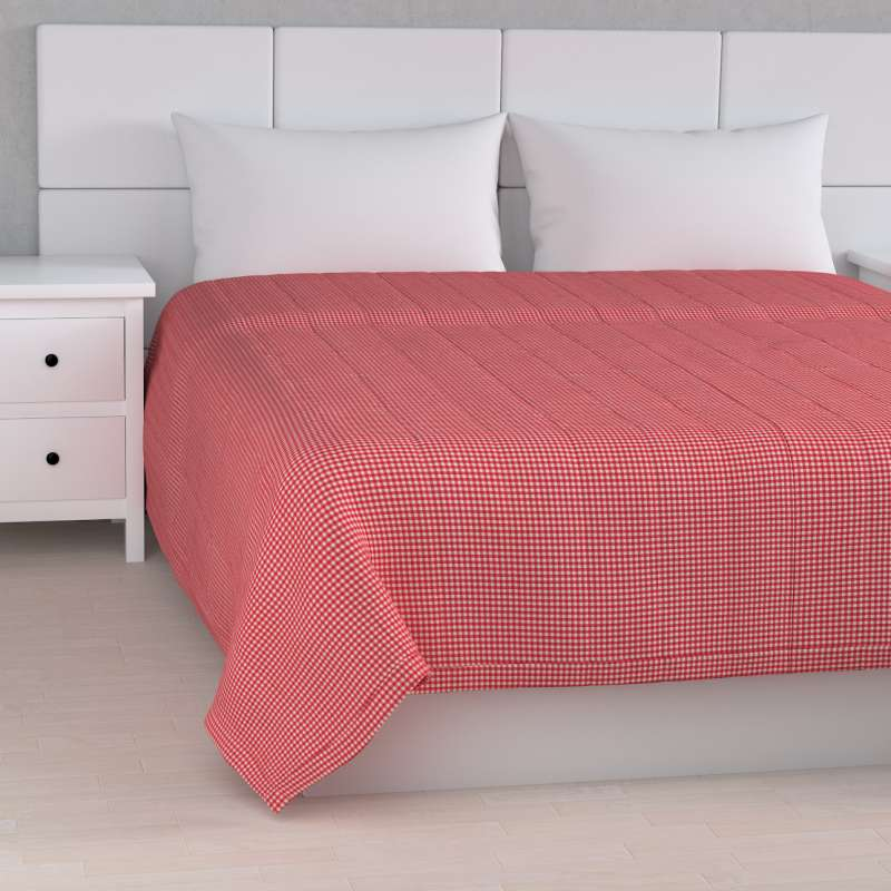 Stripe quilted throw in collection Quadro, fabric: 136-15