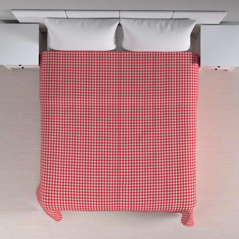 Prehoz na posteľ jednoduchý V kolekcii Quadro, tkanina: 136-16