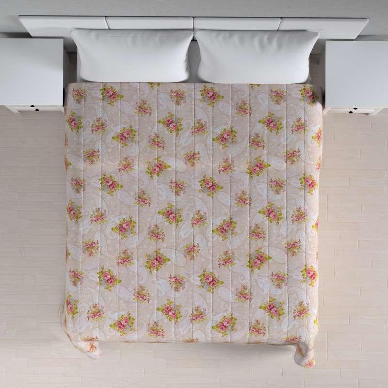 Narzuta pikowana w pasy w kolekcji Flowers, tkanina: 311-15