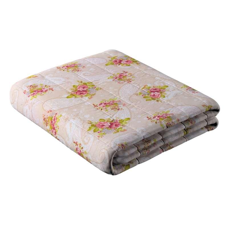 Prehoz na posteľ jednoduchý V kolekcii Flowers, tkanina: 311-15