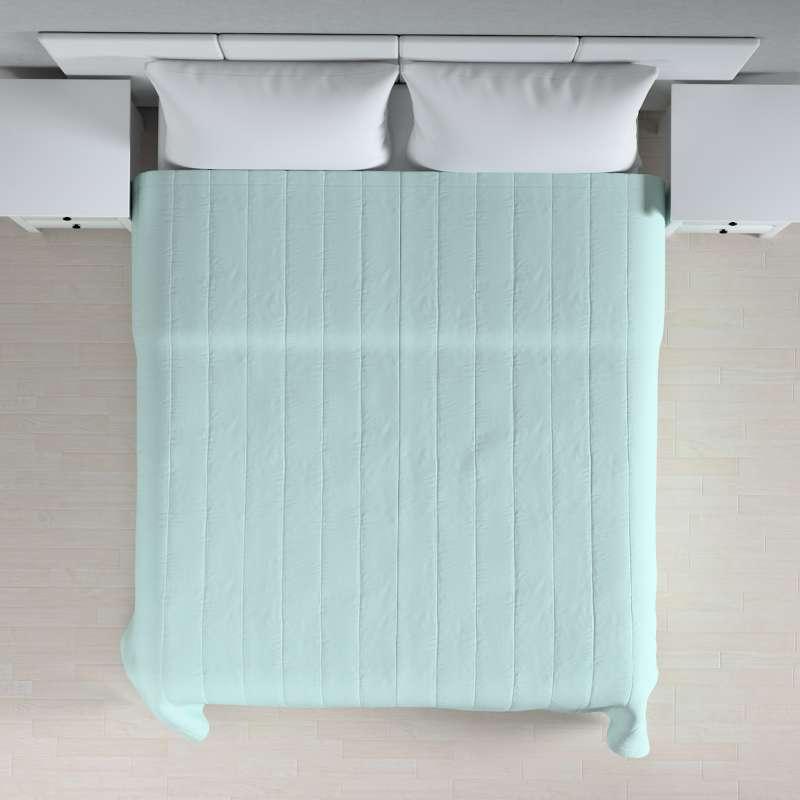 Tagesdecke mit Streifen-Steppung von der Kollektion Cotton Panama, Stoff: 702-10