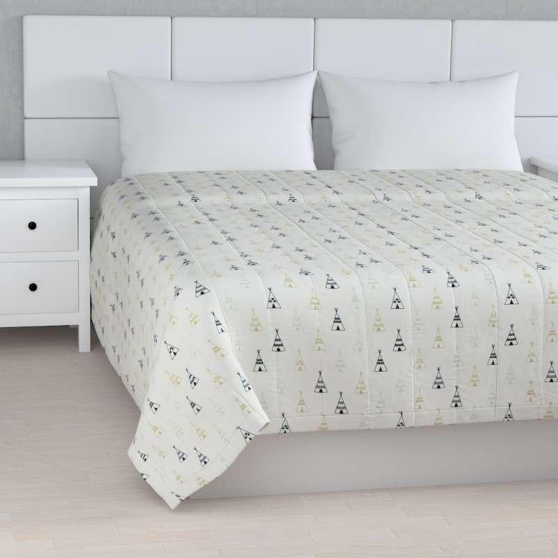 Prehoz na posteľ jednoduchý V kolekcii Adventure, tkanina: 141-84