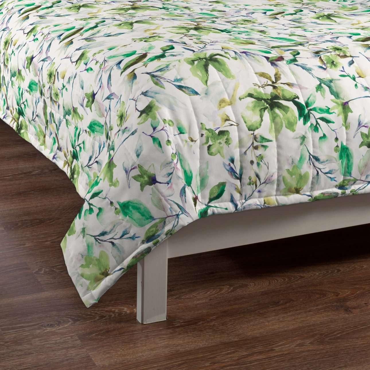 Sengeteppe quiltet<br/>10cm striper fra kolleksjonen Velvet, Stoffets bredde: 704-20