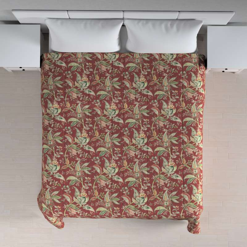 Tagesdecke mit Streifen-Steppung von der Kollektion Gardenia, Stoff: 142-12