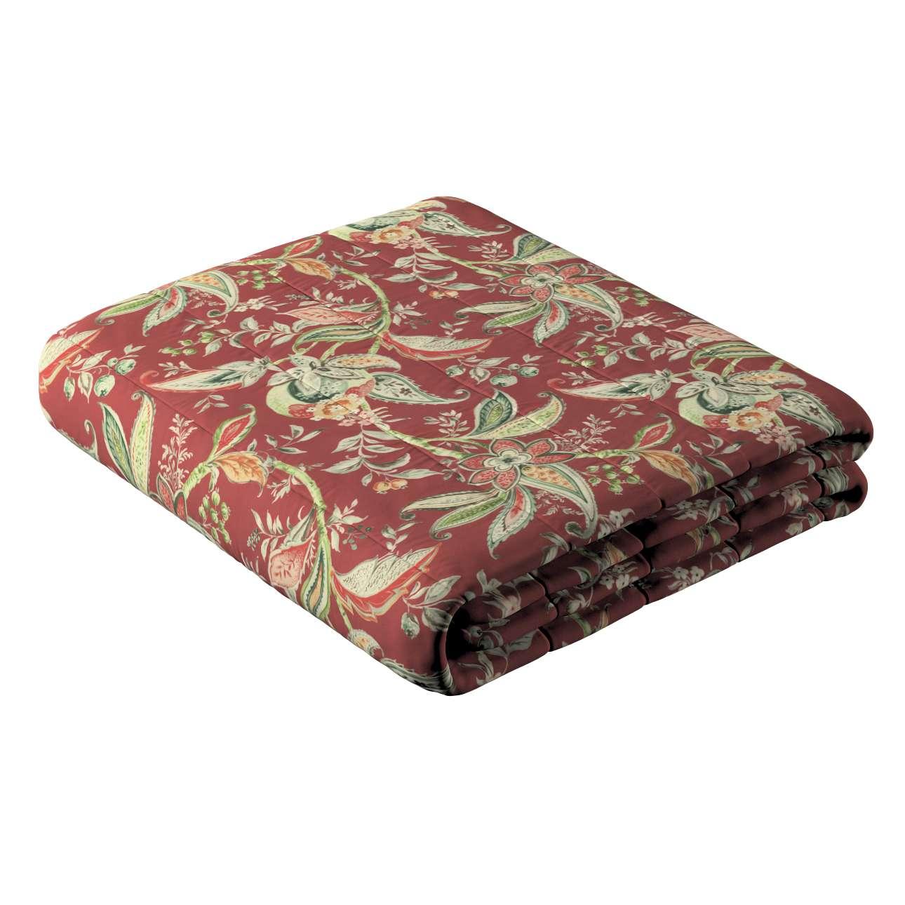 Sengeteppe quiltet<br/>10cm striper fra kolleksjonen Gardenia, Stoffets bredde: 142-12