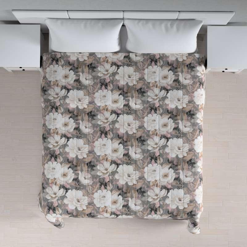 Tagesdecke mit Streifen-Steppung von der Kollektion Gardenia, Stoff: 142-13