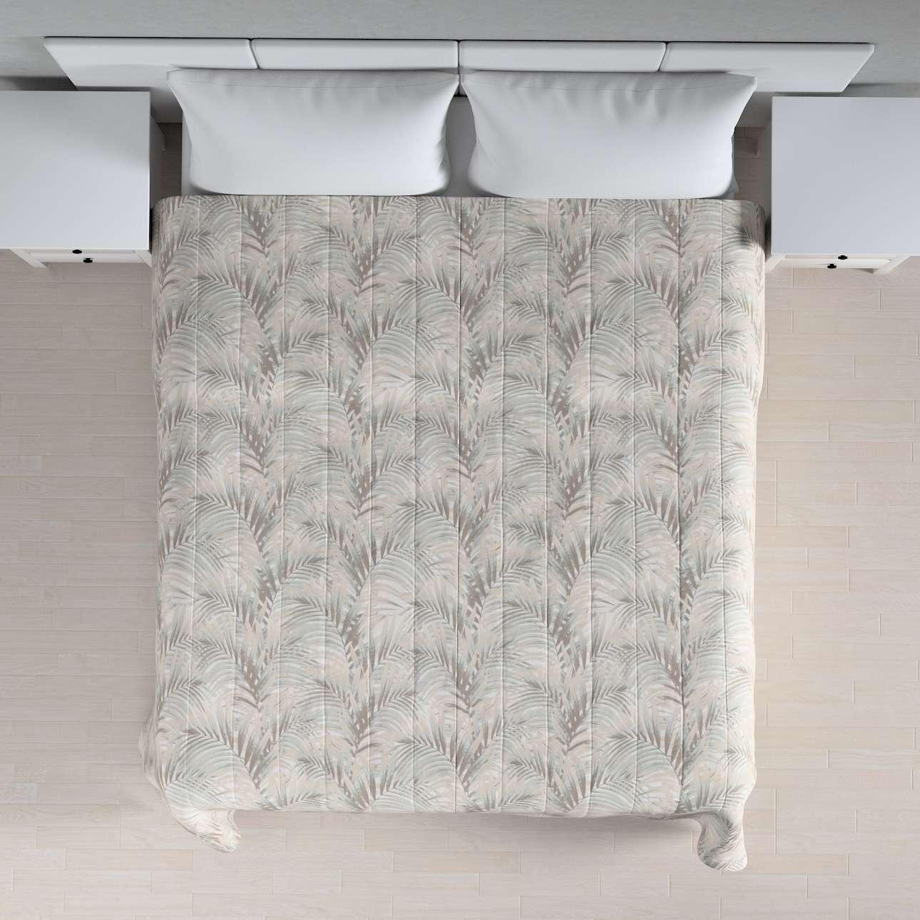 Sengeteppe quiltet<br/>10cm striper fra kolleksjonen Gardenia, Stoffets bredde: 142-14