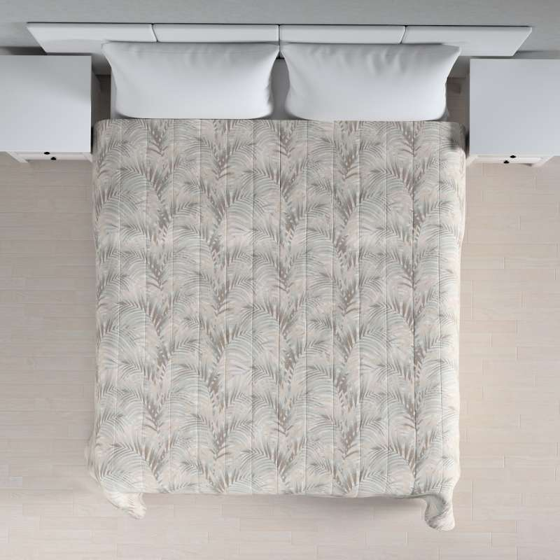 Stripe quilted throw in collection Gardenia, fabric: 142-14