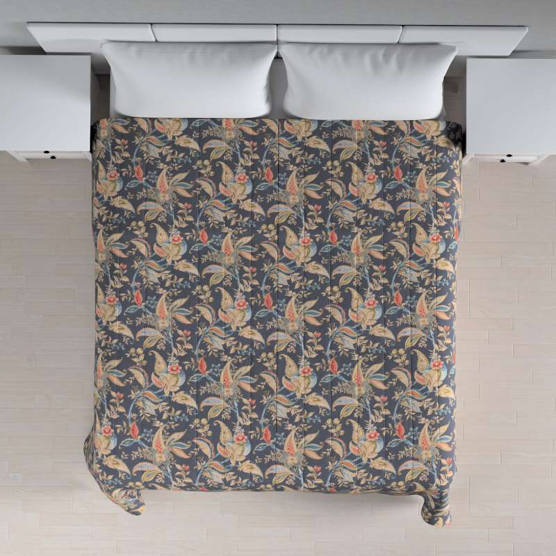 Stripe quilted throw in collection Gardenia, fabric: 142-19