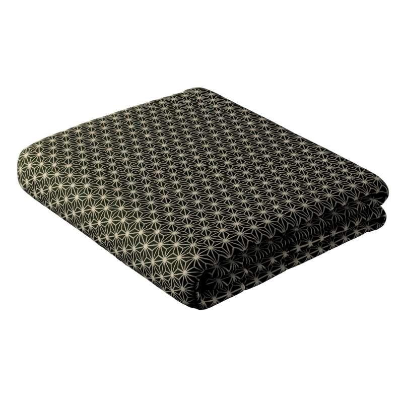 Tagesdecke mit Streifen-Steppung von der Kollektion Black & White, Stoff: 142-56