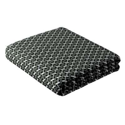 Tagesdecke mit Streifen-Steppung von der Kollektion Black & White, Stoff: 142-87