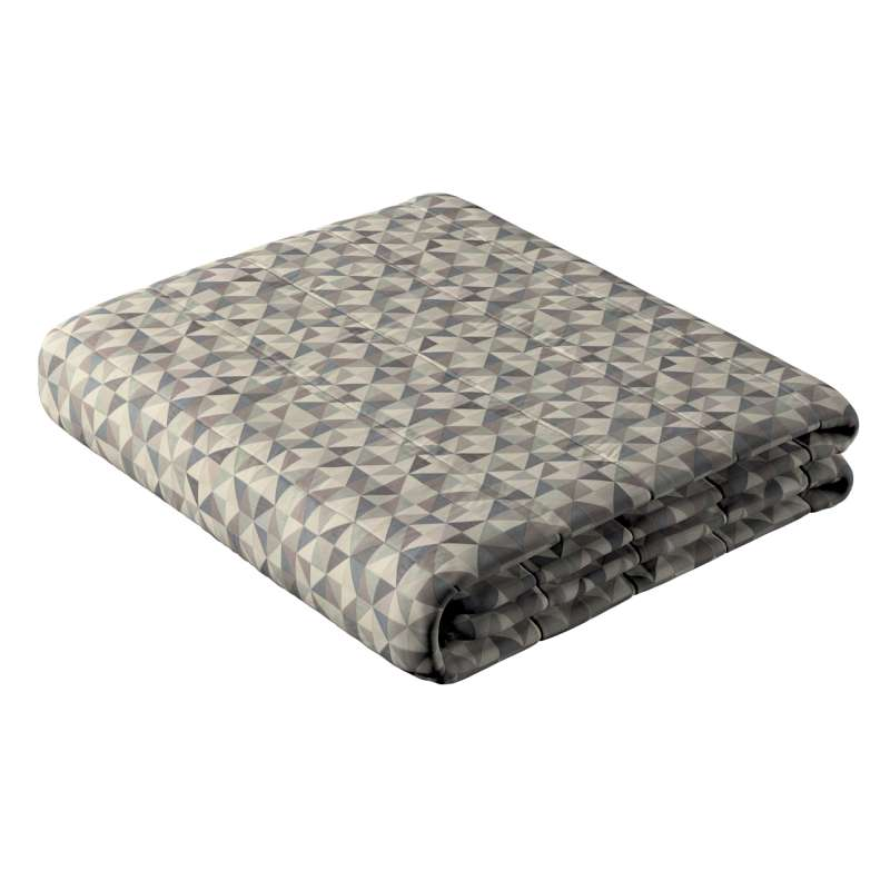 Stripe quilted throw in collection Retro Glam, fabric: 142-84