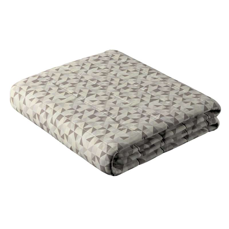 Stripe quilted throw in collection Retro Glam, fabric: 142-85