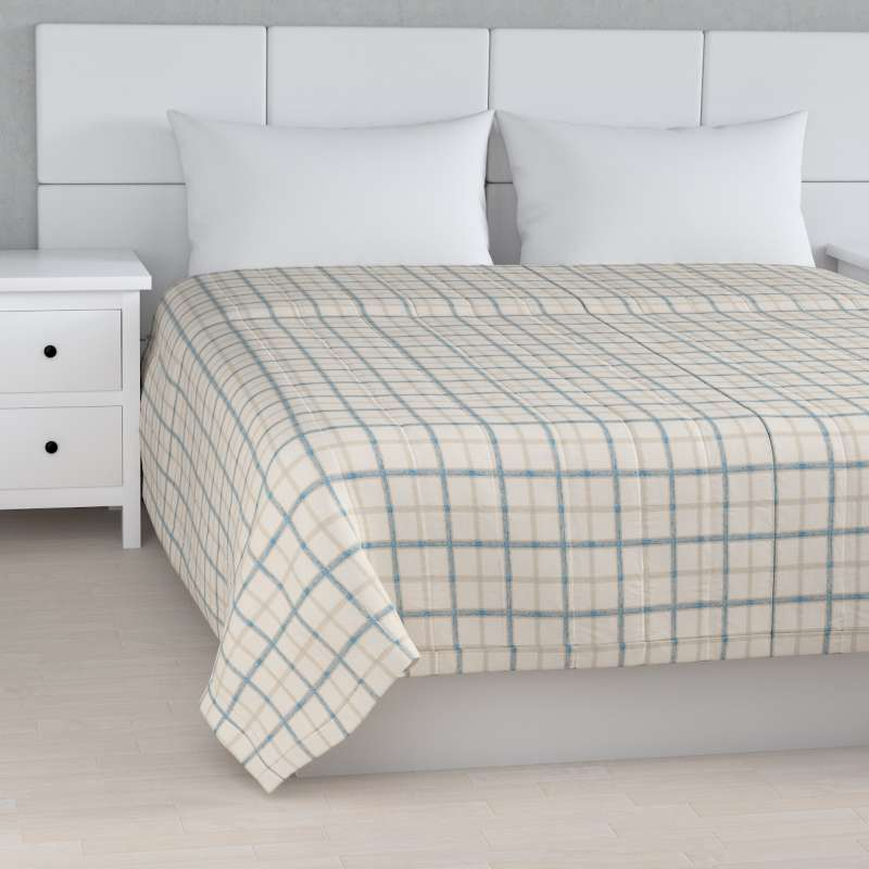 Stripe quilted throw in collection Avinon, fabric: 131-66