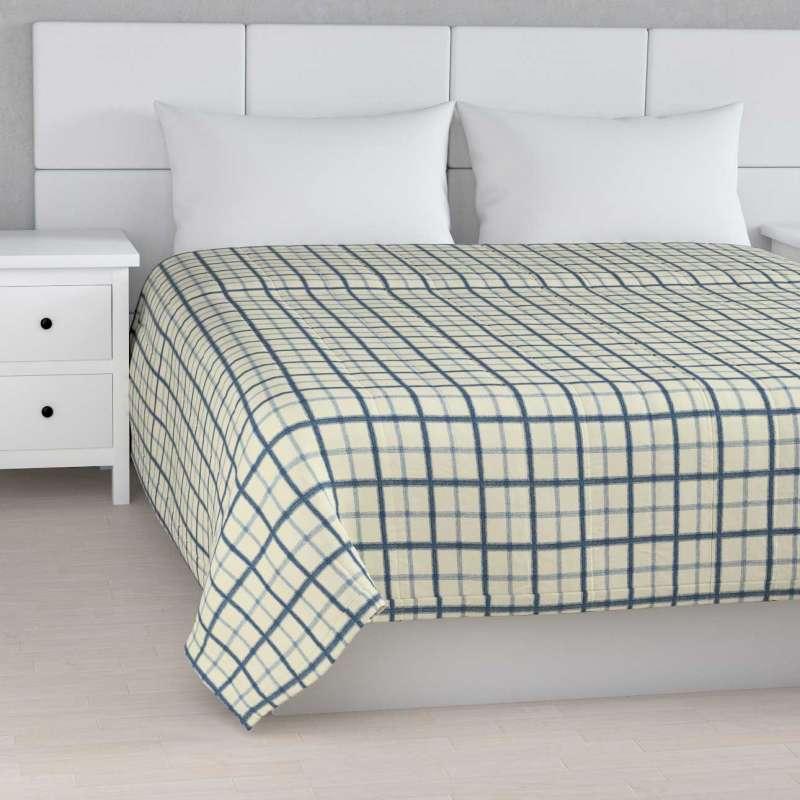 Sengetæppe quiltet<br/>10cm striber fra kollektionen Avinon, Stof: 131-66