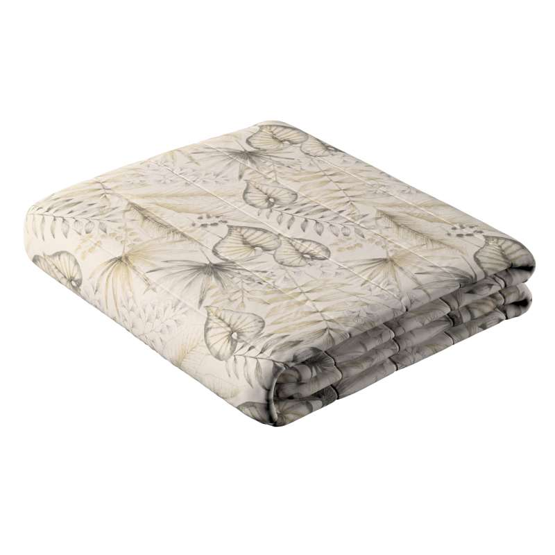 Stripe quilted throw in collection Nordic, fabric: 142-93