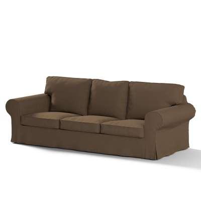 Ektorp trekk 3 seter sovesofa med boks for sengetøy fra kolleksjonen Cotton Panama, Stoffets bredde: 702-02
