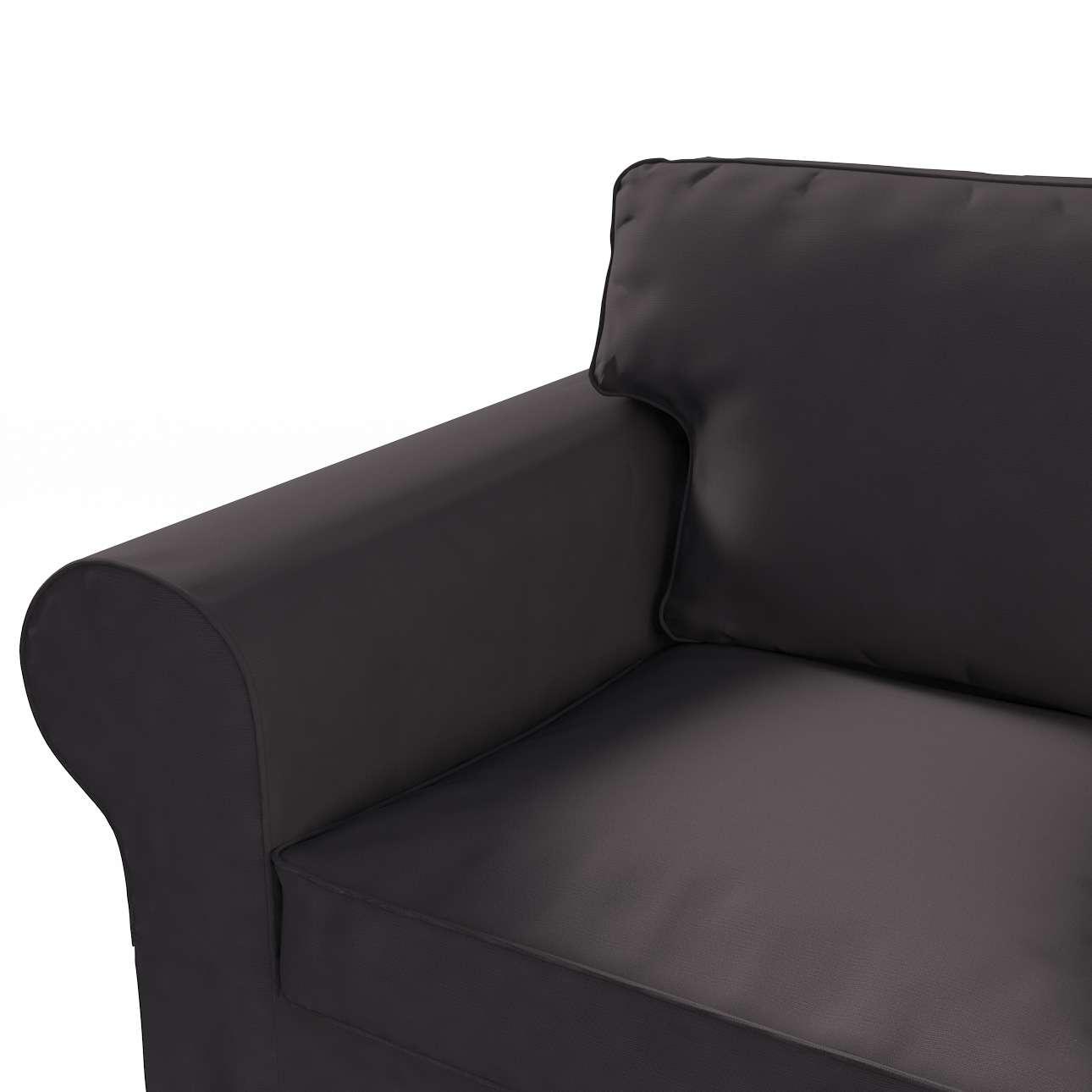 Ektorp trekk 3 seter sovesofa med boks for sengetøy fra kolleksjonen Cotton Panama, Stoffets bredde: 702-09