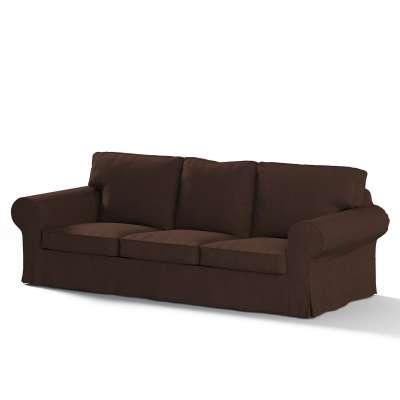 Ektorp trekk 3 seter sovesofa med boks for sengetøy fra kolleksjonen Chenille, Stoffets bredde: 702-18