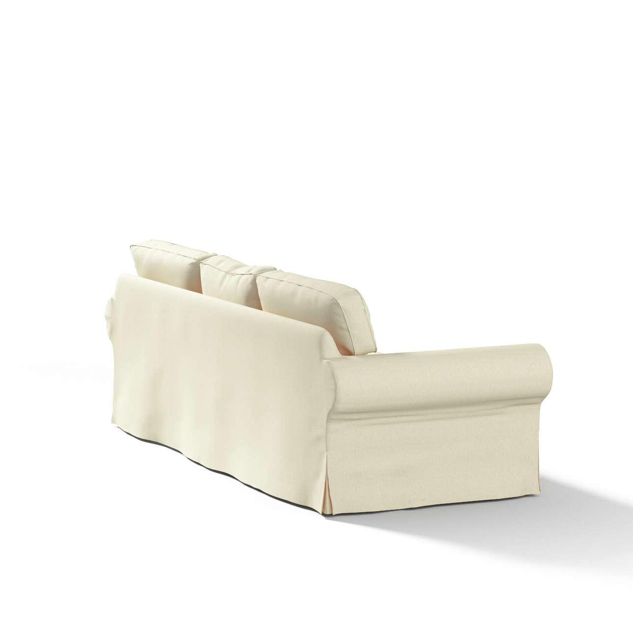Ektorp trekk 3 seter sovesofa med boks for sengetøy fra kolleksjonen Chenille, Stoffets bredde: 702-22