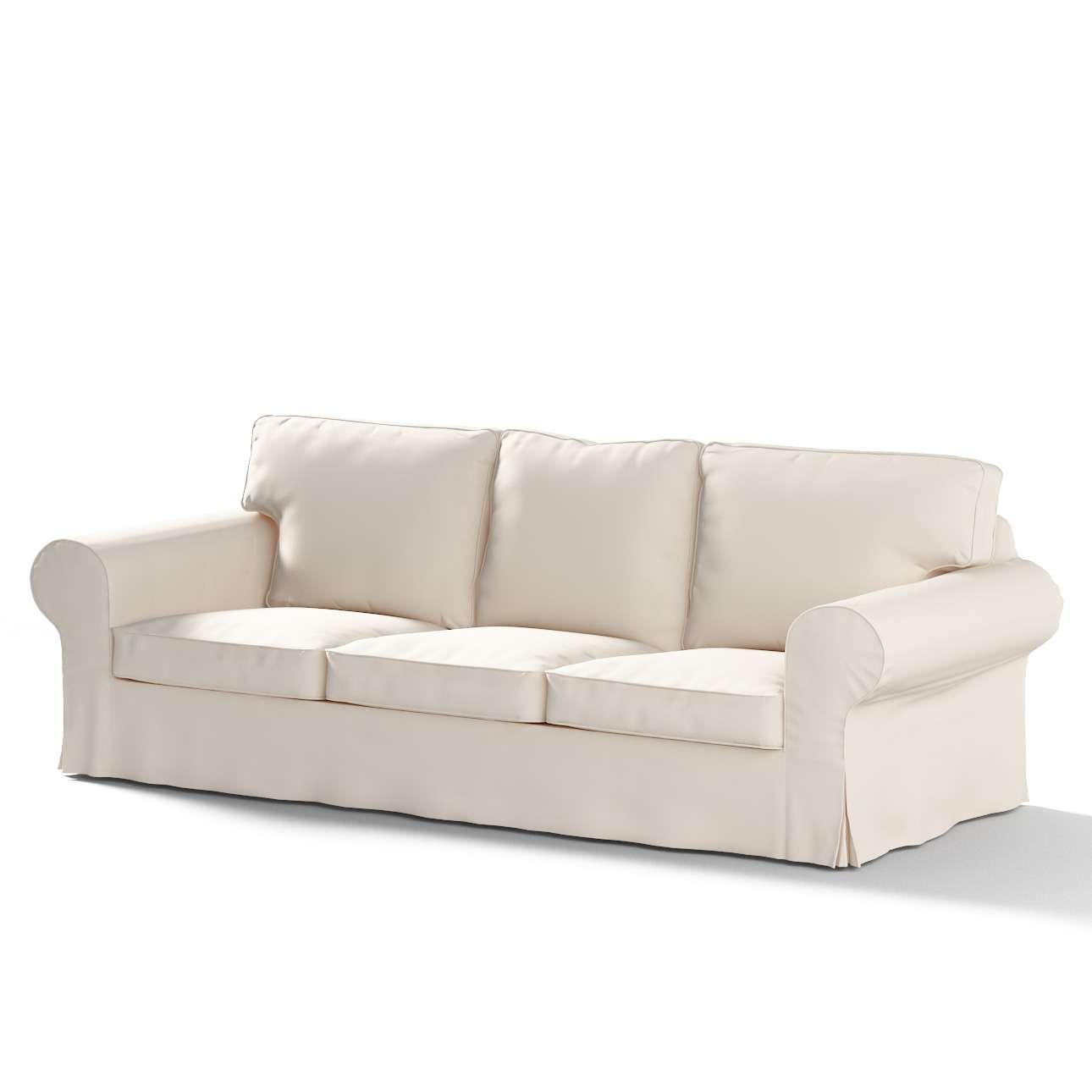 Ektorp trekk 3 seter sovesofa med boks for sengetøy fra kolleksjonen Etna - Ikke for gardiner, Stoffets bredde: 705-01