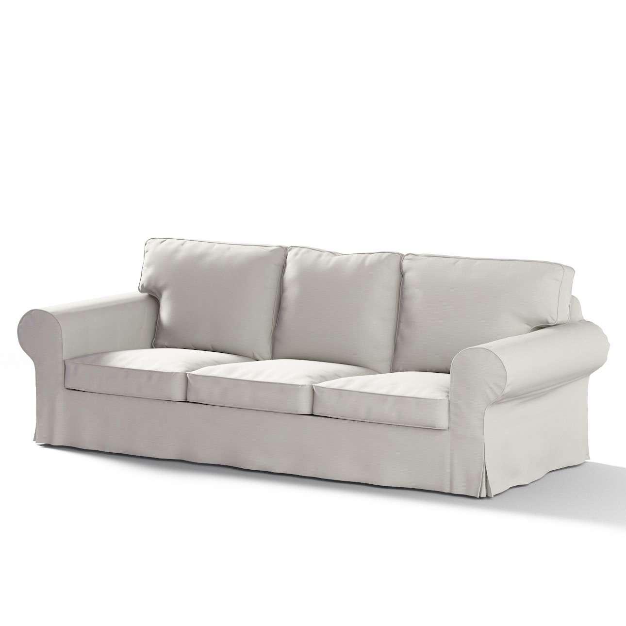 Ektorp trekk 3 seter sovesofa med boks for sengetøy fra kolleksjonen Cotton Panama, Stoffets bredde: 702-31