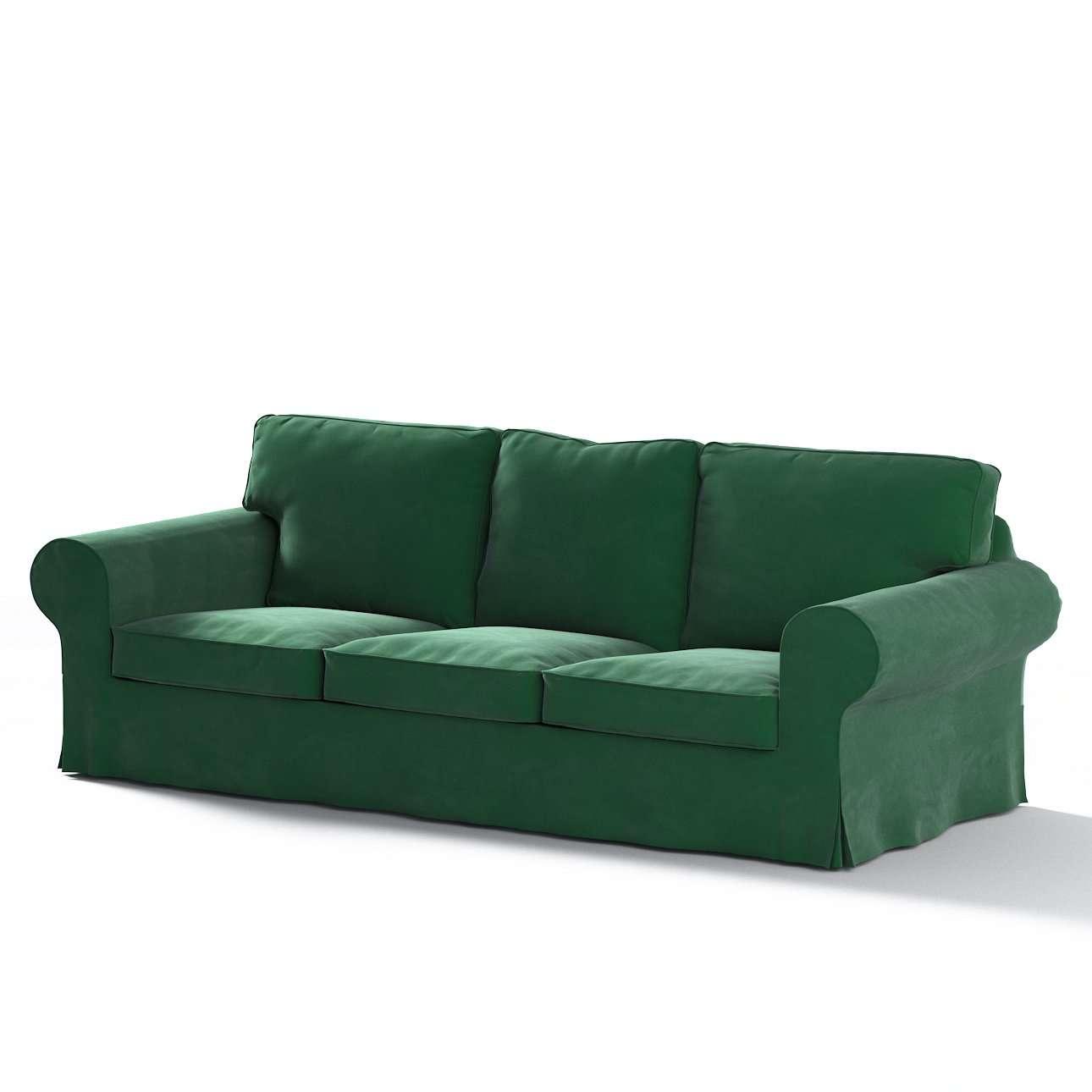 Ektorp trekk 3 seter sovesofa med boks for sengetøy fra kolleksjonen Velvet, Stoffets bredde: 704-13
