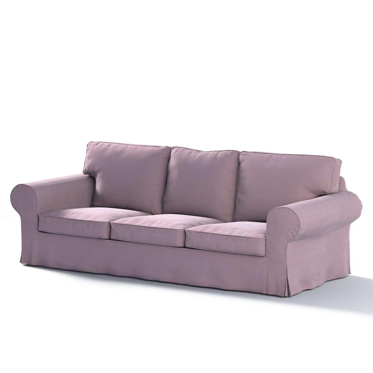 Ektorp 3-Sitzer Schlafsofabezug, ALTES Modell, rosa, Sofahusse Ektorp 3-Sitzer Schlafsofa, Velvet | Heimtextilien > Hussen und Überwürfe | Dekoria