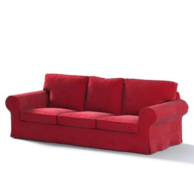 Ektorp trekk 3 seter sovesofa med boks for sengetøy fra kolleksjonen Velvet, Stoffets bredde: 704-15