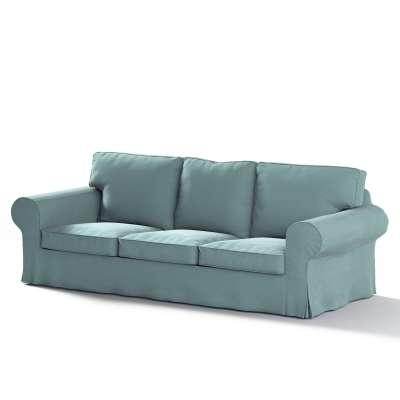 Ektorp trekk 3 seter sovesofa med boks for sengetøy fra kolleksjonen Velvet, Stoffets bredde: 704-18