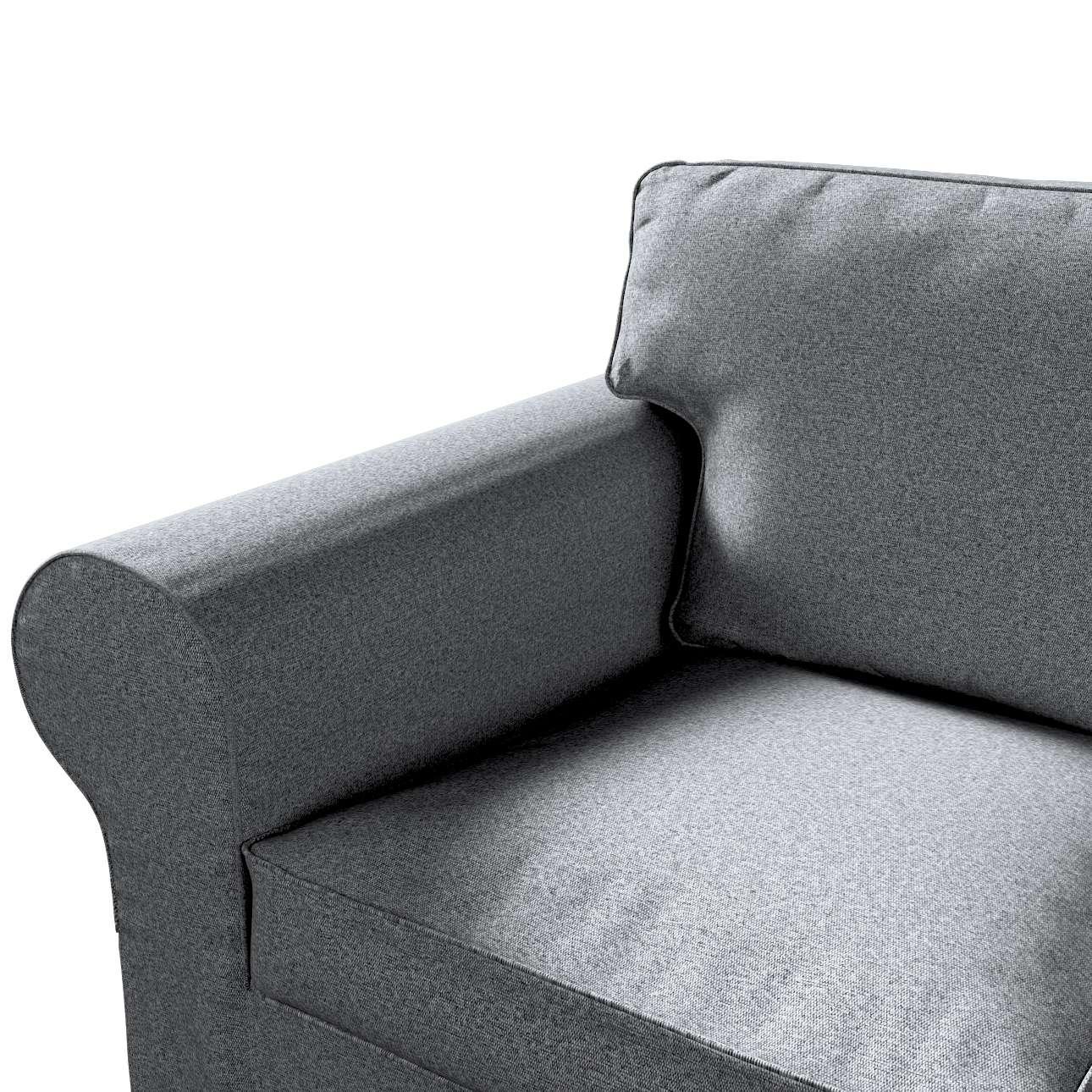 Ektorp trekk 3 seter sovesofa med boks for sengetøy fra kolleksjonen Amsterdam, Stoffets bredde: 704-47
