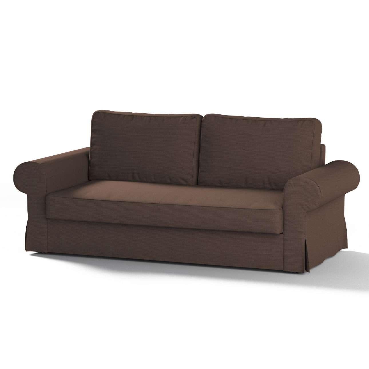 Pokrowiec na sofę Backabro 3-osobową rozkładaną w kolekcji Etna, tkanina: 705-08