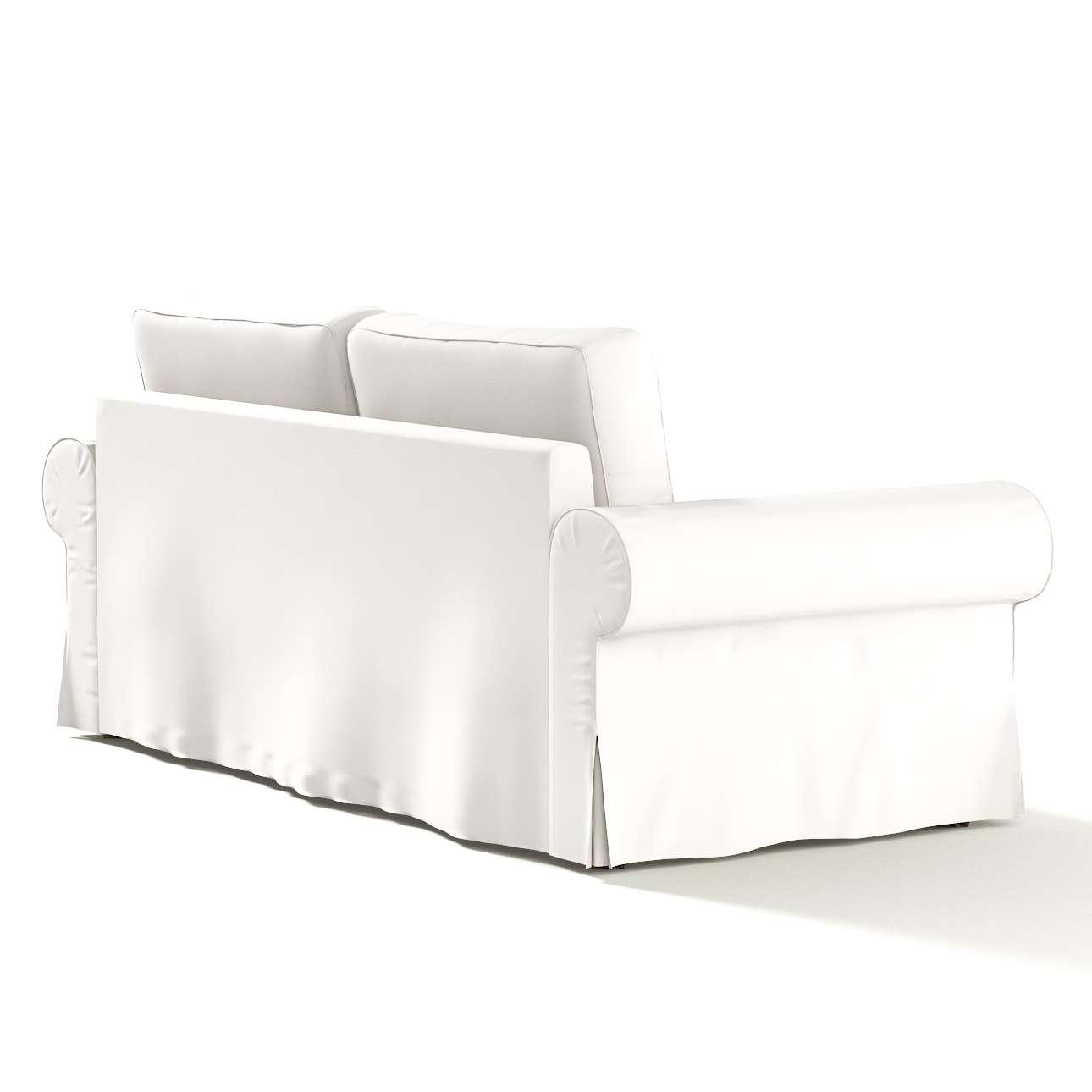 Pokrowiec na sofę Backabro 3-osobową rozkładaną w kolekcji Cotton Panama, tkanina: 702-34