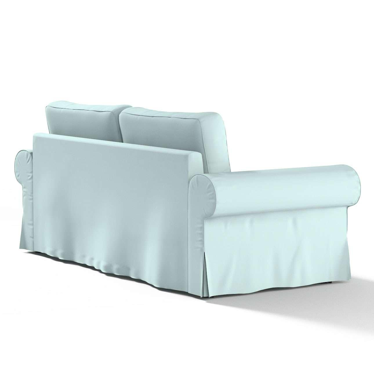 Pokrowiec na sofę Backabro 3-osobową rozkładaną w kolekcji Cotton Panama, tkanina: 702-10