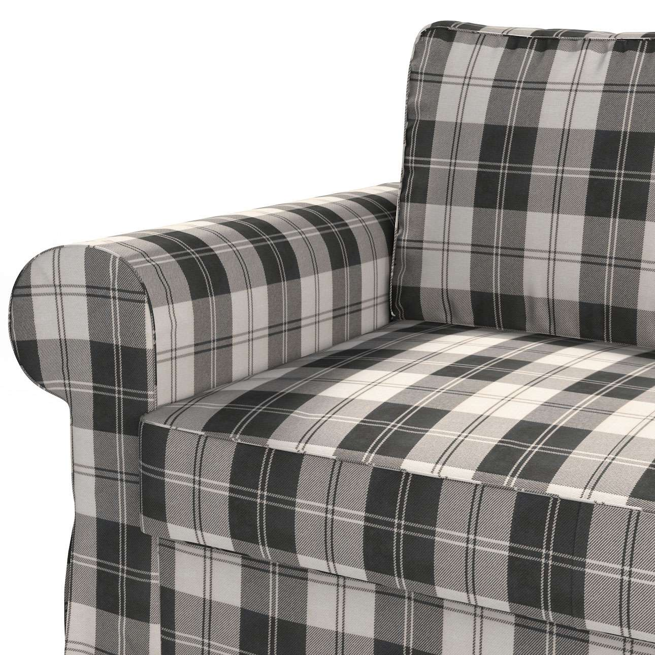 Pokrowiec na sofę Backabro 2-osobową rozkładaną w kolekcji Edinburgh, tkanina: 115-74