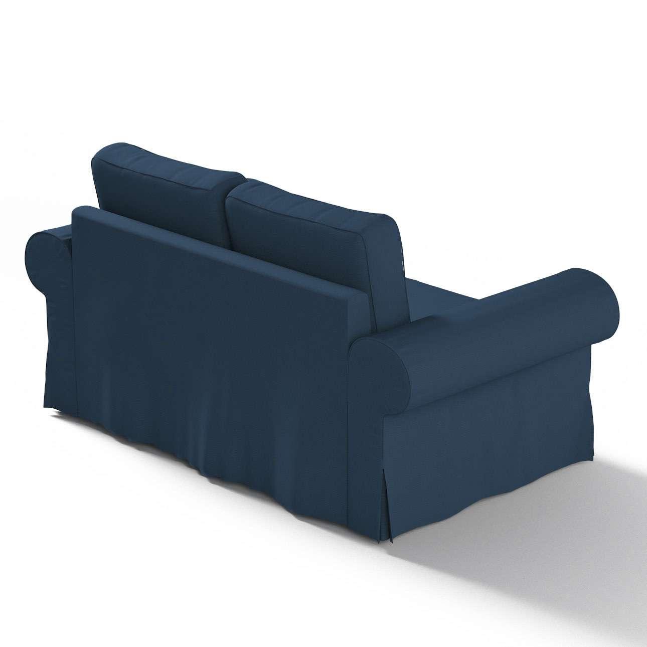 Pokrowiec na sofę Backabro 2-osobową rozkładaną w kolekcji Cotton Panama, tkanina: 702-30