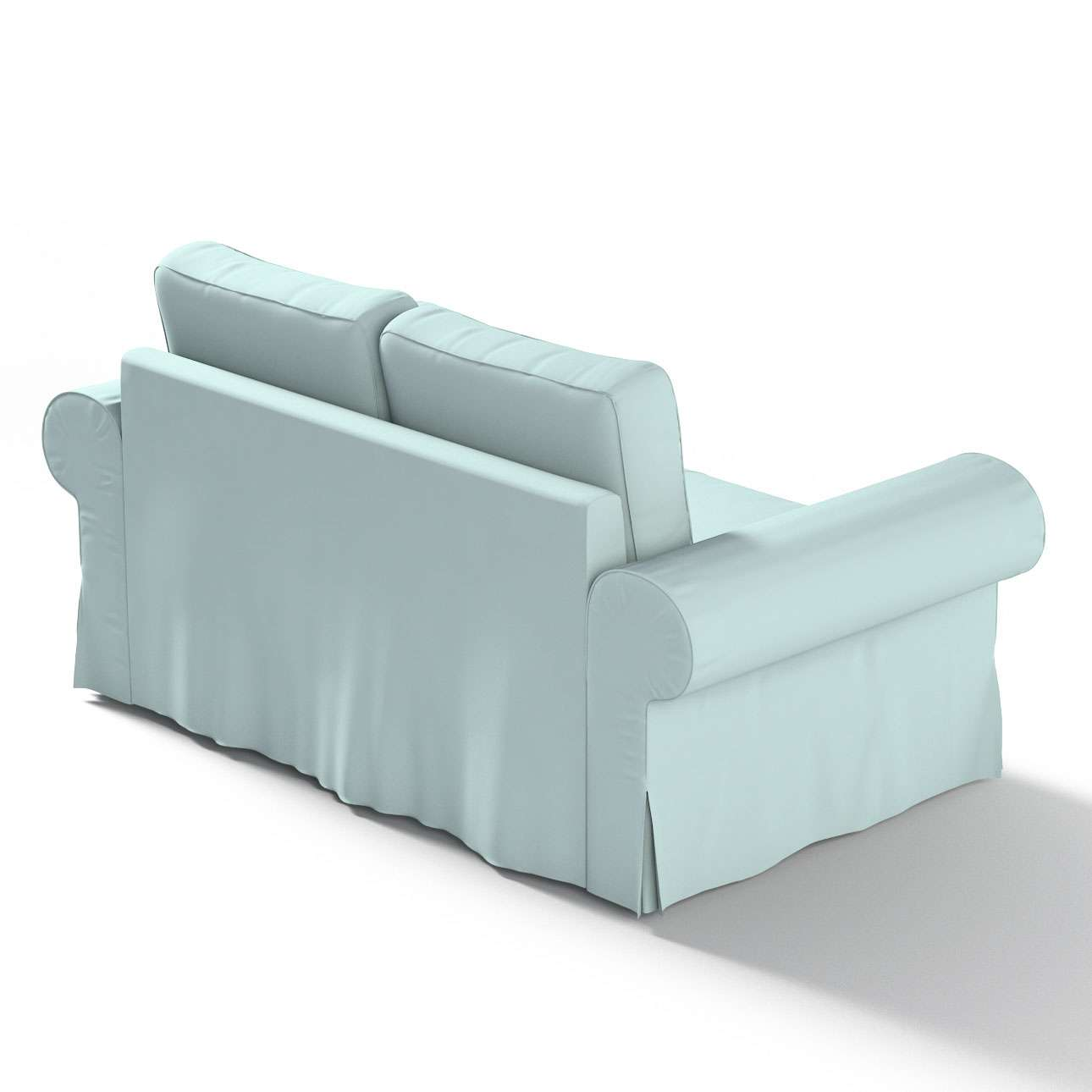 Backabro 2-Sitzer Sofabezug nicht ausklappbar von der Kollektion Cotton Panama, Stoff: 702-10