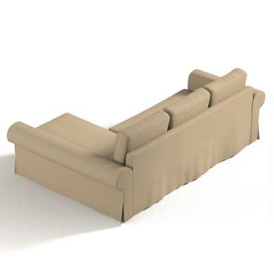 Backabro trekk 3 seter sovesofa med sjeselong<br/>Høyre og venstre fra kolleksjonen Cotton Panama, Stoffets bredde: 702-01