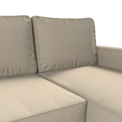 Pokrowiec na sofę Backabro rozkładaną z leżanką w kolekcji Edinburgh, tkanina: 115-78