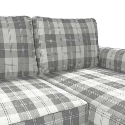 Pokrowiec na sofę Backabro rozkładaną z leżanką w kolekcji Edinburgh, tkanina: 115-79