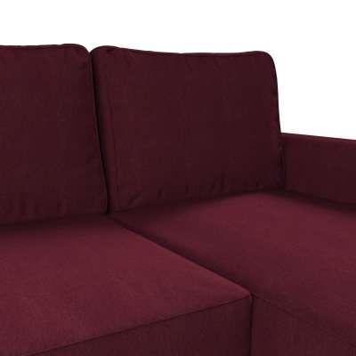 Pokrowiec na sofę Backabro rozkładaną z leżanką w kolekcji Chenille, tkanina: 702-19