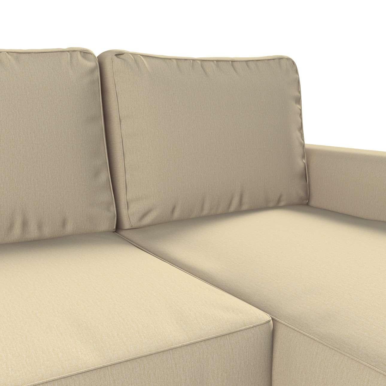 Backabro trekk 3 seter sovesofa med sjeselong<br/>Høyre og venstre fra kolleksjonen Chenille, Stoffets bredde: 702-22