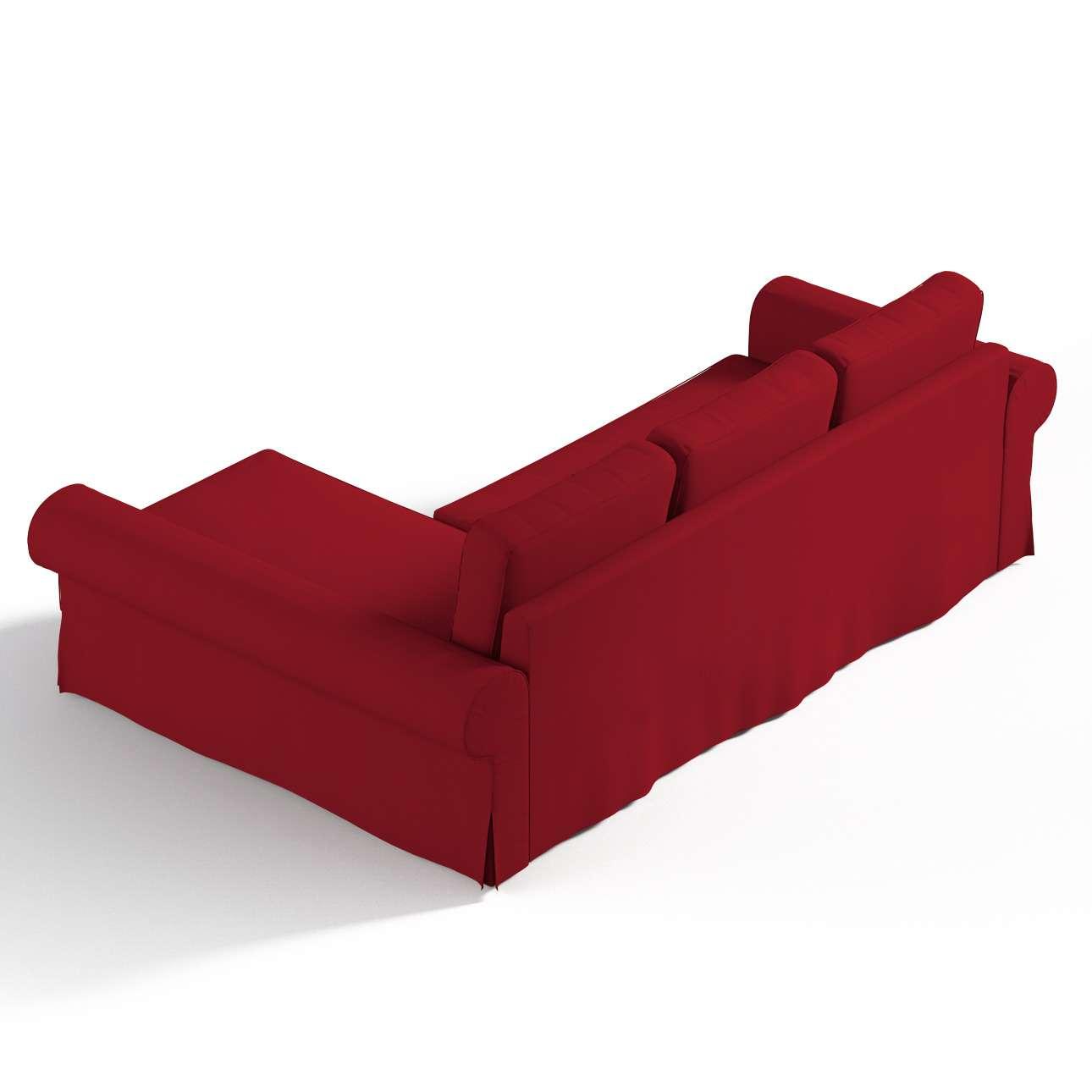 Pokrowiec na sofę Backabro rozkładaną z leżanką w kolekcji Chenille, tkanina: 702-24