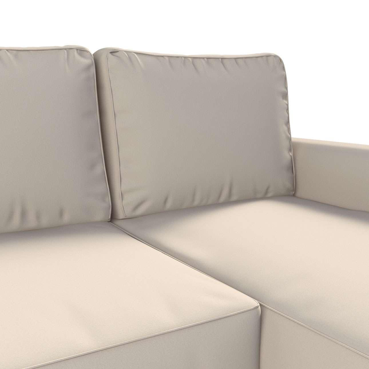 Pokrowiec na sofę Backabro rozkładaną z leżanką w kolekcji Etna, tkanina: 705-01