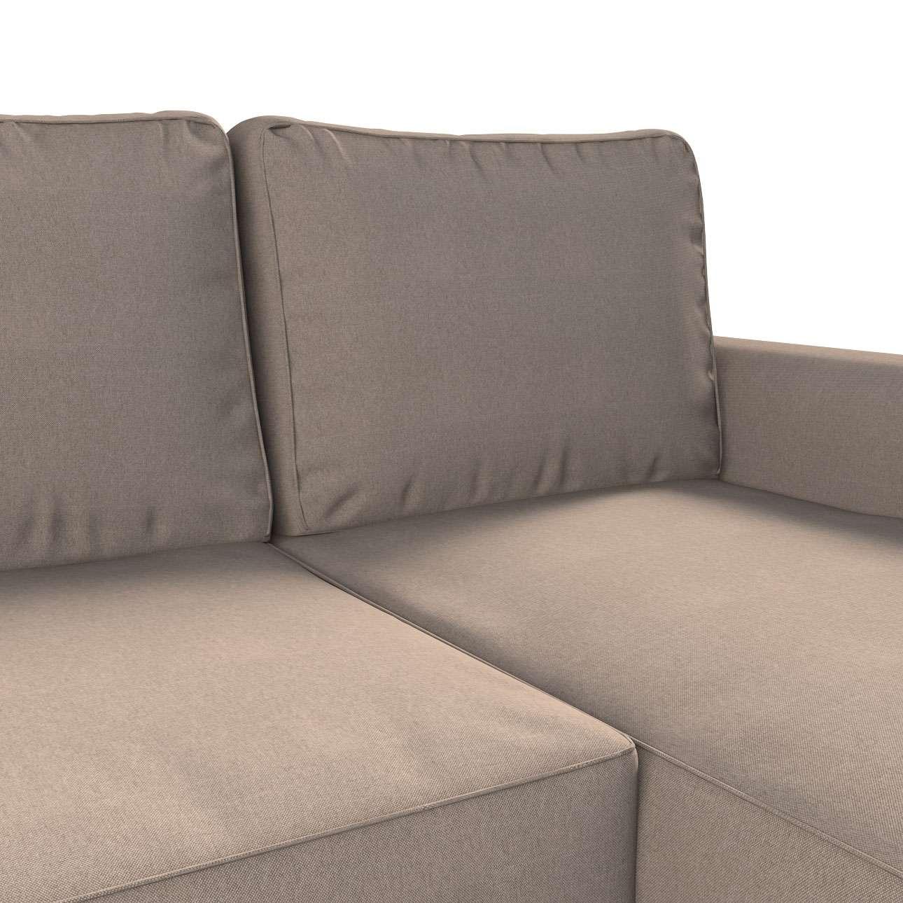 Backabro trekk 3 seter sovesofa med sjeselong<br/>Høyre og venstre fra kolleksjonen Etna - Ikke for gardiner, Stoffets bredde: 705-09