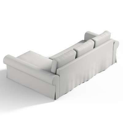 Pokrowiec na sofę Backabro rozkładaną z leżanką w kolekcji Etna, tkanina: 705-90