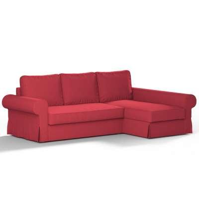 Pokrowiec na sofę Backabro rozkładaną z leżanką w kolekcji Etna, tkanina: 705-60
